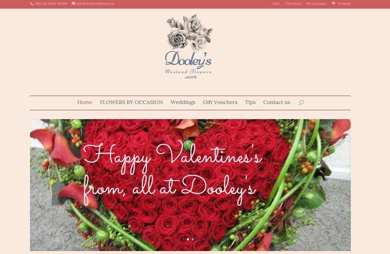 dooleys flowers website