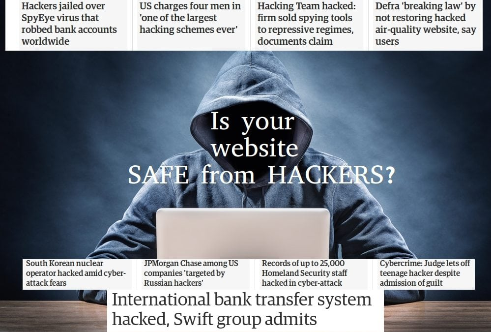 Website security: as hacking continues to grow, is your website safe?