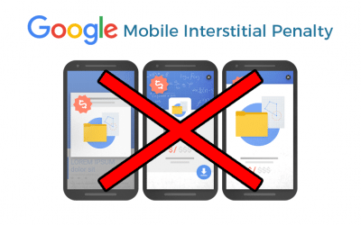 "Google Mobile Interstitial Penalty gets sites showing ""annoying"" popups"