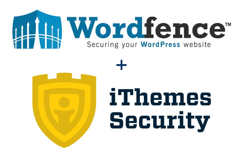 WordFence and iThemes Security logos